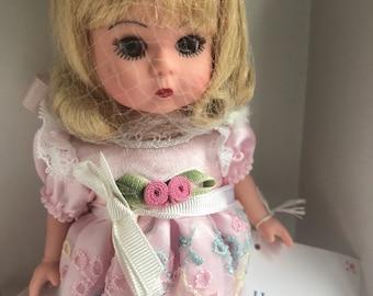Happy birthday Madame Alexander doll with original box