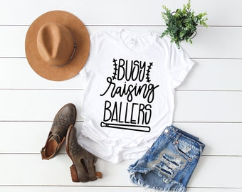 I Only Raise Ballers, Women's tee, Women's Tank, Gifts For Her, Gifts For Women, Mother's Day Gifts, Graphic Tees, Baseball Mom Shirt