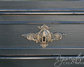diy furniture applqiues - keyholes - architectural mouldings - decorative forms - furniture moldings - shabby chic appliques - onlays