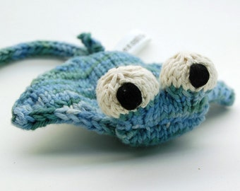 Manta Ray Knitting Amigurumi Toy Plush Pattern PDF Digital Download