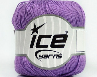 ICE Yarns - 100% Bamboo Yarn - Lilac