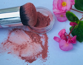 MINERAL BLUSHES & BRONZER Organic/Natural - High Quality Loose Powder  (20g with Rotating Sifter Jar)
