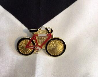 Vintage BIKE LIFE DeadStock Vintage Enamel Pin Collectible Bicycle