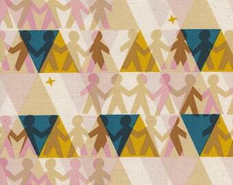Paper People in Sunshine -Paper Cuts -Rashida Coleman-Hale for Cotton + Steel