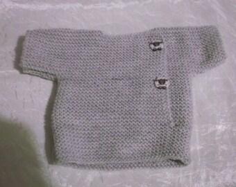 Baby sweater-jacket
