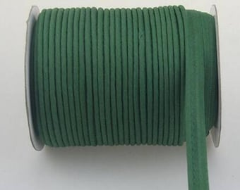Forest green piping by the yard
