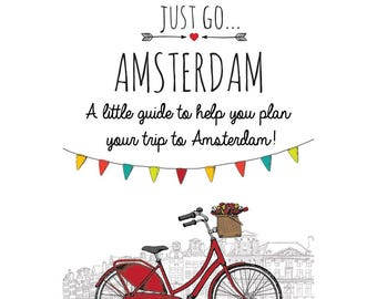 Amsterdam travel guide, PDF zine, A5, Travel guide, Trip to Amsterdam, download PDF, adventure, europe, Amsterdam, easy trip,vacation