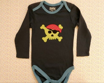Body with Pirate Skull