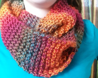 Sunset infinity scarf
