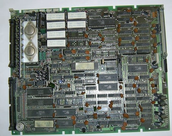 Vintage 1980s CPU 8088 Motherboard With Printer Port #210-0020-00 Made in Japan