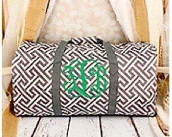 Monogram Duffle Bag  **MULTIPLE DESIGNS**