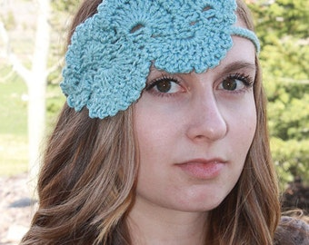 Instant Download - CROCHET PATTERN PDF - The Queen Crochet Headband - Permission To Sell Finished Items
