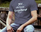 EMT T Shirt I Know Everyt...