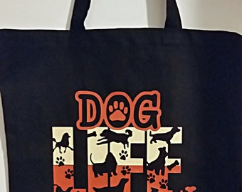 Dog Life Tote Bag