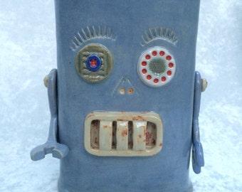 Kitchen Robot Pot With LED Eye