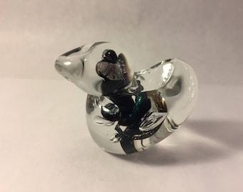 Friendly Glass Bird