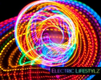 Fusion - Strobing led Hula Hoop