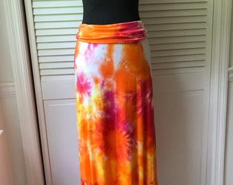 tie dye skirt/dress