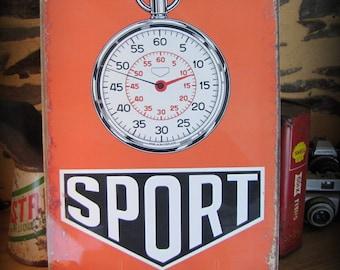 "Plated chronograph""Sport"" rally mounted Carlo """