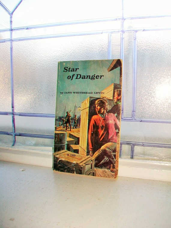 Star of Danger by Jane Whitbread Levin Vintage Book 1966 Western Novel