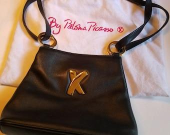 1990s Paloma Picasso shoulder bag