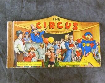 Very Rare Circus Panorama Book - 1945.