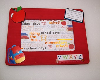 Set of 5 School Picture Frames
