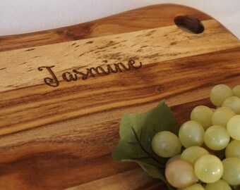 Personalised Chopping Board / Cheeseboard - Kitchenware, Anniversary, Housewarming, Birthday, Foodie, Mother's Day, Father's Day