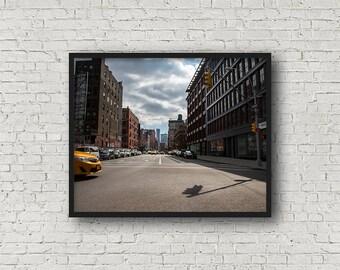 New York City Street Photograph / Digital Download / Fine Art Print/ Wall Art / Home Decor / Color Photograph / Travel Photography