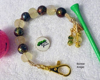 Golf course comptoir avec perles fait main