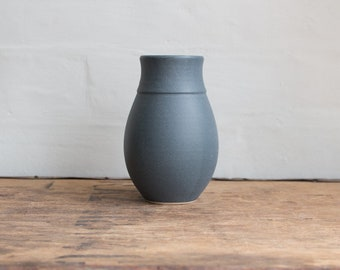 Dry Blue Vase Medium