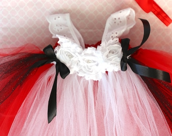 Beautiful Little Red Riding Hood  Dress Costume with Red Bow Headband for Baby Girl 6-18 Months First Halloween Baby Halloween Costume