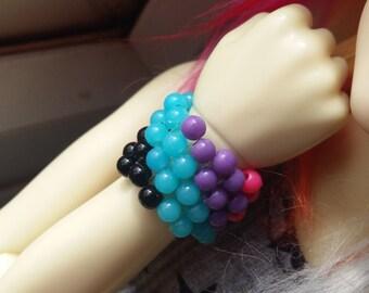 BJD Striped Cuff Bracelet