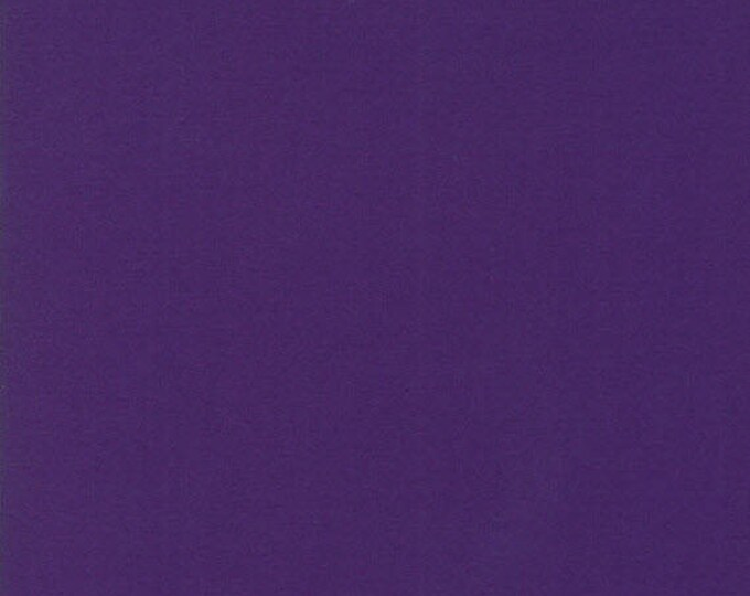 BELLA SOLIDS - Purple - Solid Blender Cotton Quilt Fabric - from Moda Fabrics - 9900-21 (W4395)