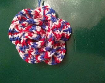 Fourth of July rose bow