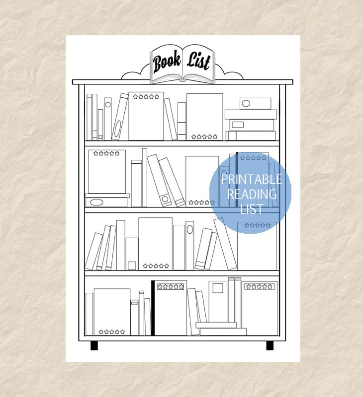 It's just an image of Enterprising Book List Printable