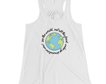 See The World - Traveler Tank Top