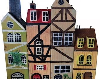 Wood Post Houses