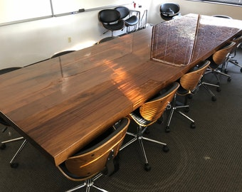 Black Walnut Office Desk
