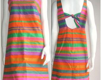 60s Deadstock Dress -  Mod