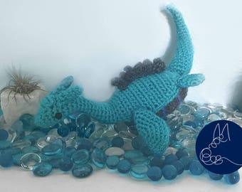 Sea Monster - Amigurumi Crochet Pattern
