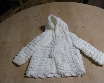 Vintage - Made in Greece - knit top and bottom for 3 month old baby!