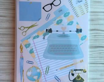 Boss girl Sticker book 4x6 Sticker organizer Sticker storage Sticker album