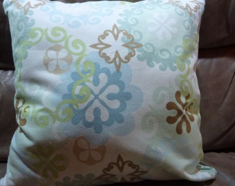 Decorative twill Pillow Cover - 18x18 -  Accent pillow - Richloom fabric - Designer fabric - Pillows - Pillow covers