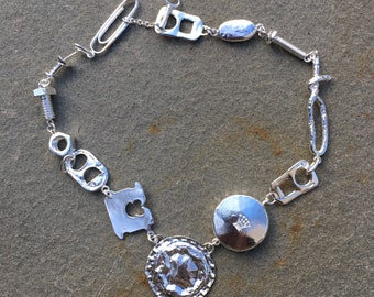 Trashy Trinkets necklace in Silver