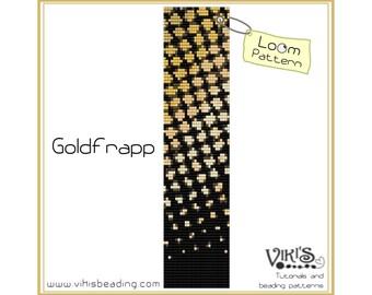 Loom Pattern: Goldfrapp bracelet - INSTANT DOWNLOAD pdf - New Discount codes - bl68