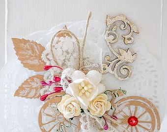 Card, Handmade Card, Wedding Card, Birthday Card, Congratulations Card