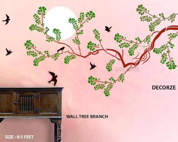 Tree Branch Wall Stencil Large Stencils