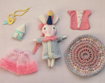 Bunny with clothes