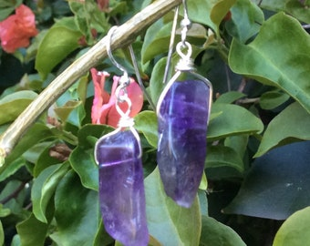 Awesome Amethyst Dangle Earrings!